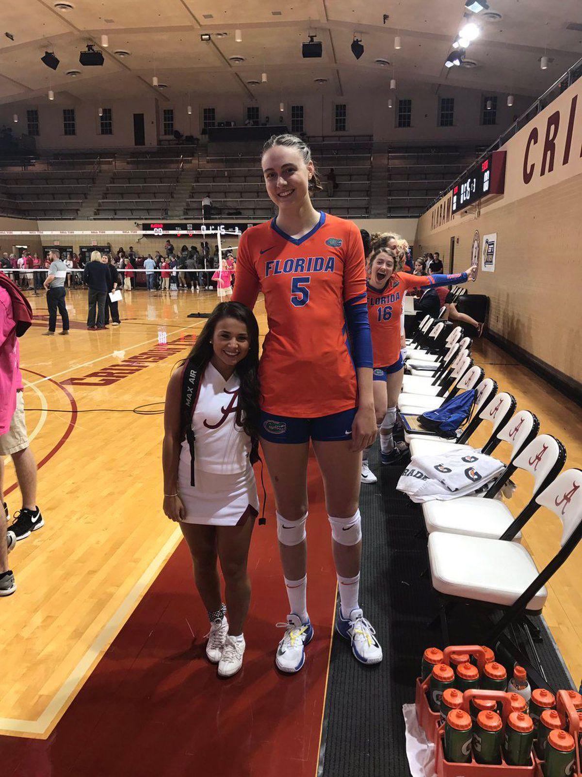 College Athletes' Height Difference Rocks The Internet Regarding Unrsity Of South Dakota School Break Schedule