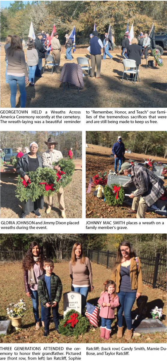 Georgetown Wreaths Across America Ceremony – The Copiah Throughout Events 2021 Jackson Ms