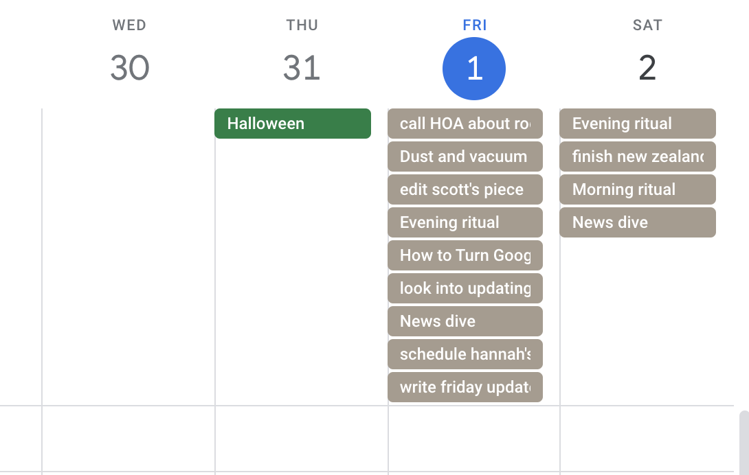How To Turn Google Calendar Into The Ultimate Productivity Hub With Ifttt Remember The Milk To Google Calendar Time