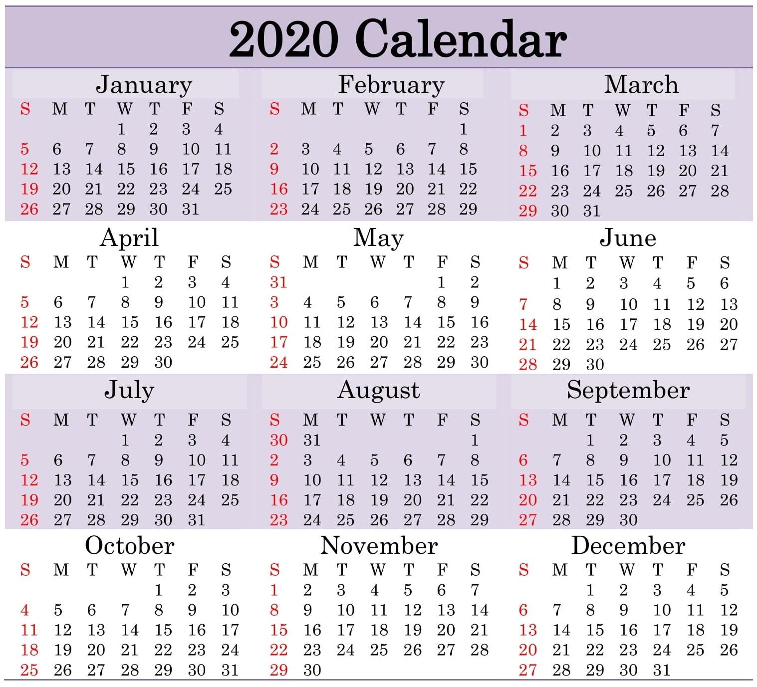 Julian Date Leap Year 2021 | Printable Calendar Template 2020 Throughout Printable Julian Date Calendar Leap Year
