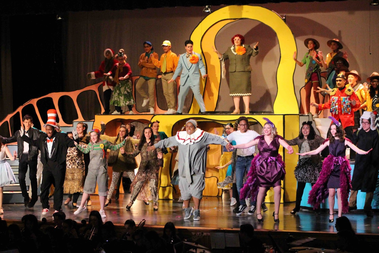 North Babylon Performs Colorful 'Seussical' Production With Regard To North Babylon High School Calender