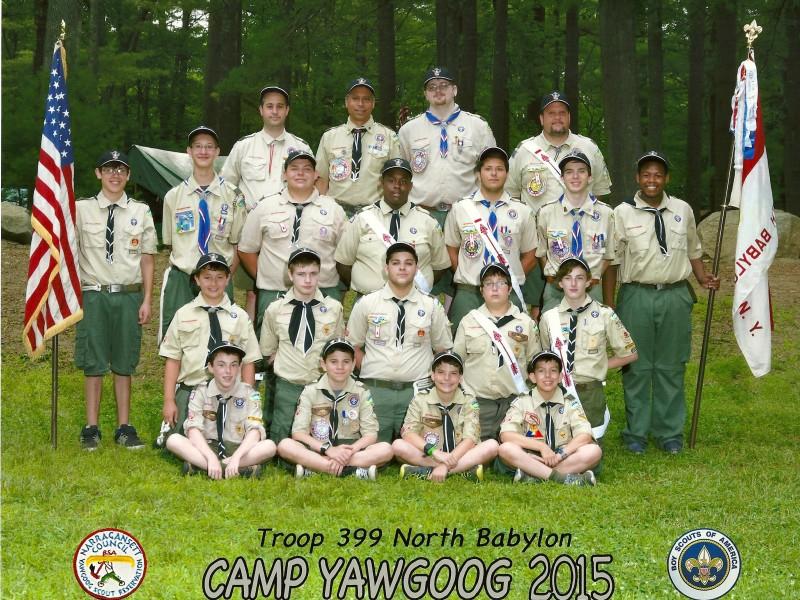 North Babylon Troop 399'S Camp Yawgoog Summer Of 2015 Pertaining To North Babylon High School Calender