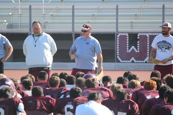 Paloma Valley Opens Football Practice With Standout In Paloma Valley High School Menifee Holidays