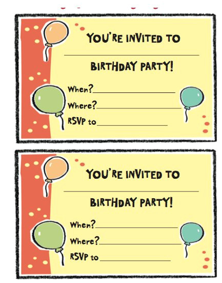 Ve Day Party Invitation Template   Wmmfitness In Word Of The Day Template