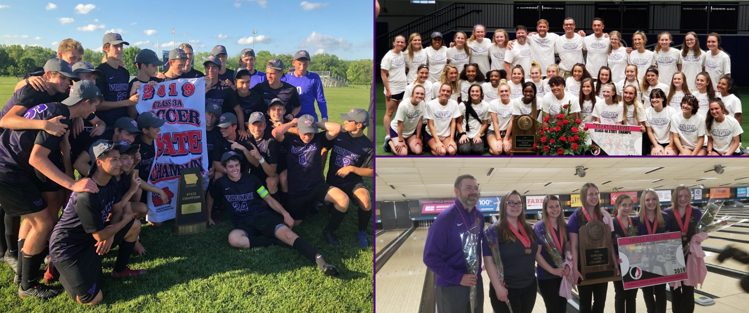 Waukee High School Awarded Des Moines Register All-Sports with Woodland Hills School District Calendar