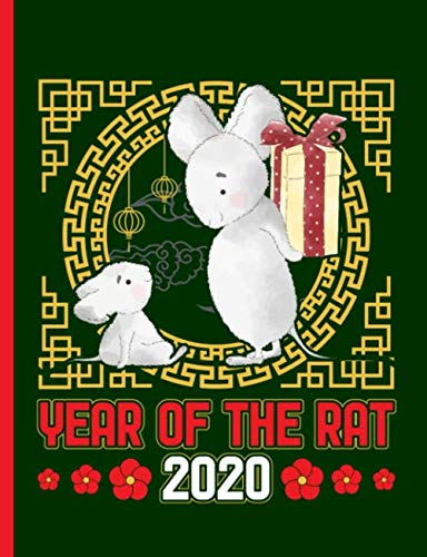 Year Of The Rat 2020 Composition Notebook: Happy Chinese Within Four Volume Liturgy Of The Hours Calendar 2020
