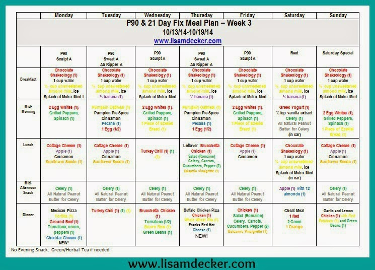 90 Day Supreme Workout Meal Plan | Eoua Blog Within Supreme 90 Day Schedule
