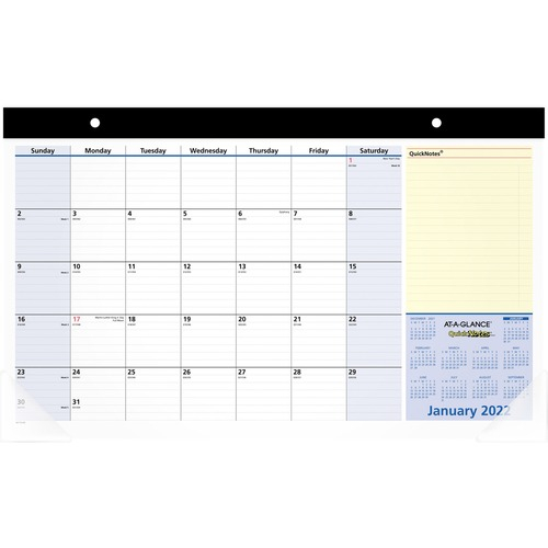 At A Glance Quicknotes Monthly Desk Pad   Kennedy Office Within Julian Date Calendar 2022
