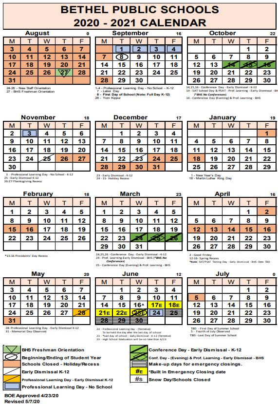 Bethel Public Schools Calendar 2021 2022   Lunar Calendar With Regard To Garnet Valley School Calendar 2022