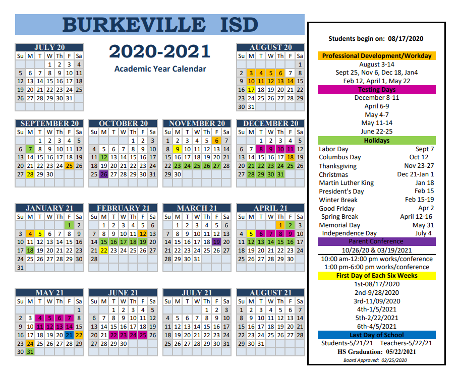 Bisd Calendar 2020 To 2021 | Printable March With Regard To Fort Worth Isd Calendar 2021