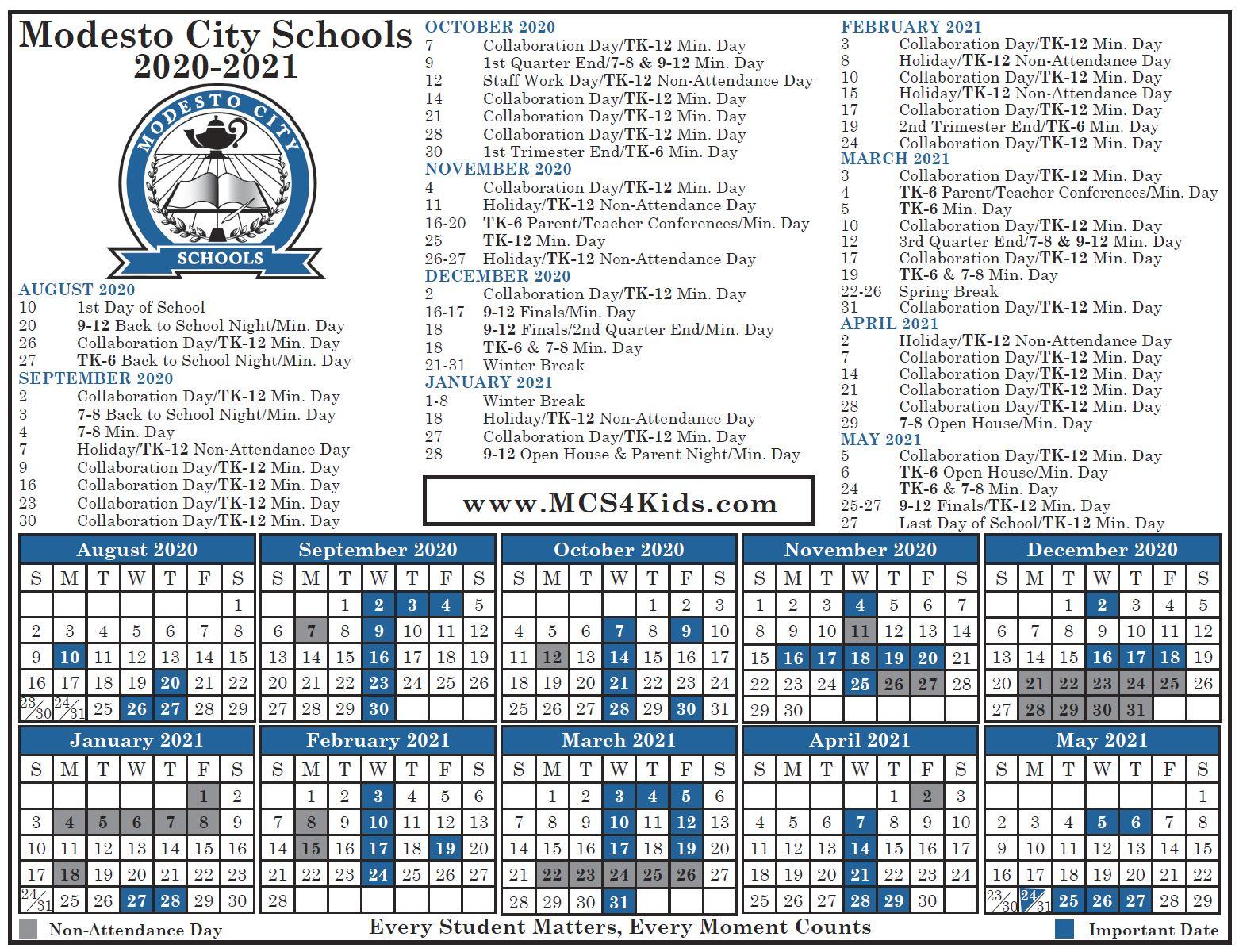 Calendar Within City Of Merced School District Calendar In Full Sail University 2021 Semester Dates