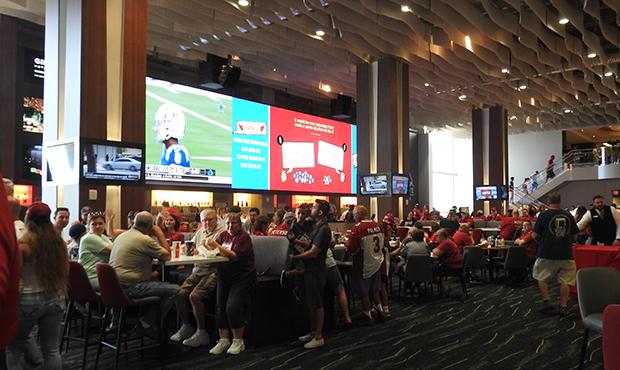 Cardinals Upgrade Club Areas At University Of Phoenix Stadium Inside University Of Phoenix Break