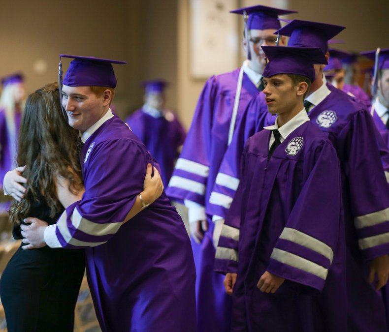 Cherokee Bluff High School'S First Graduation Ceremony In Pertaining To When Does Mifflin County High School Gradutation Is