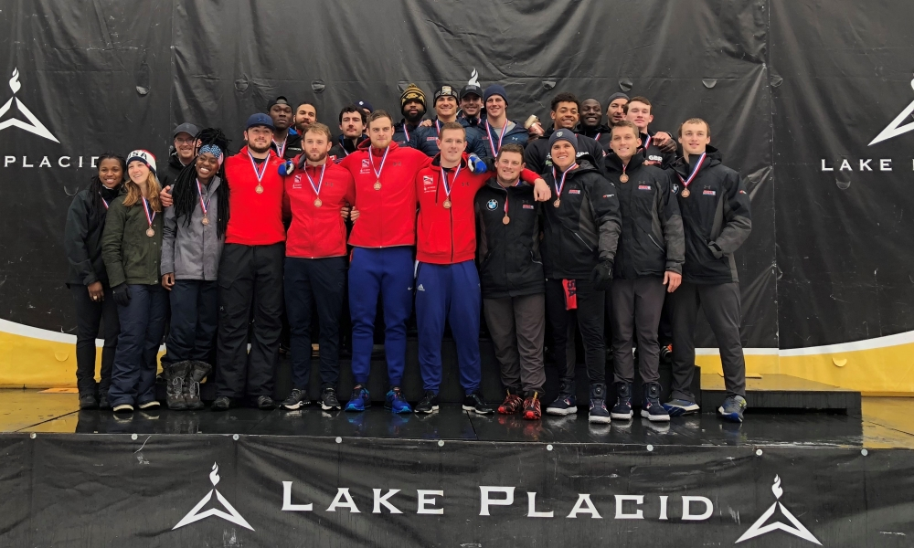 Chris Spring And Hunter Church Win 4 Man Bobsleigh Races Within Lake Placid Events 2021
