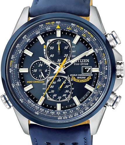 Citizen Atomic/Radio Controlled Wrist Watches – Blue Regarding Citizen Wr100 Chronograph Manual