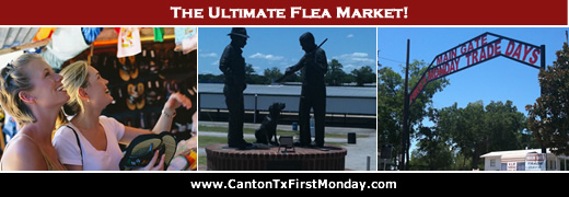 City Of Canton Texas, The Home Of First Monday Trade Days In Canton Trade Days 2021 Schedule
