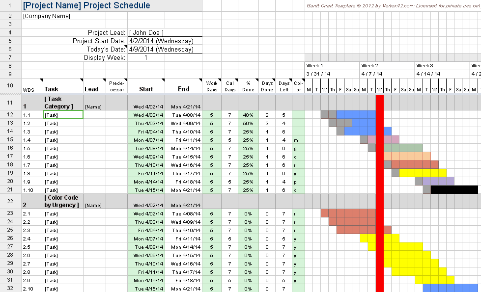 Creating A Gantt Chart With Excel Is Getting Even Easier With Change Excel Data To Calendar View
