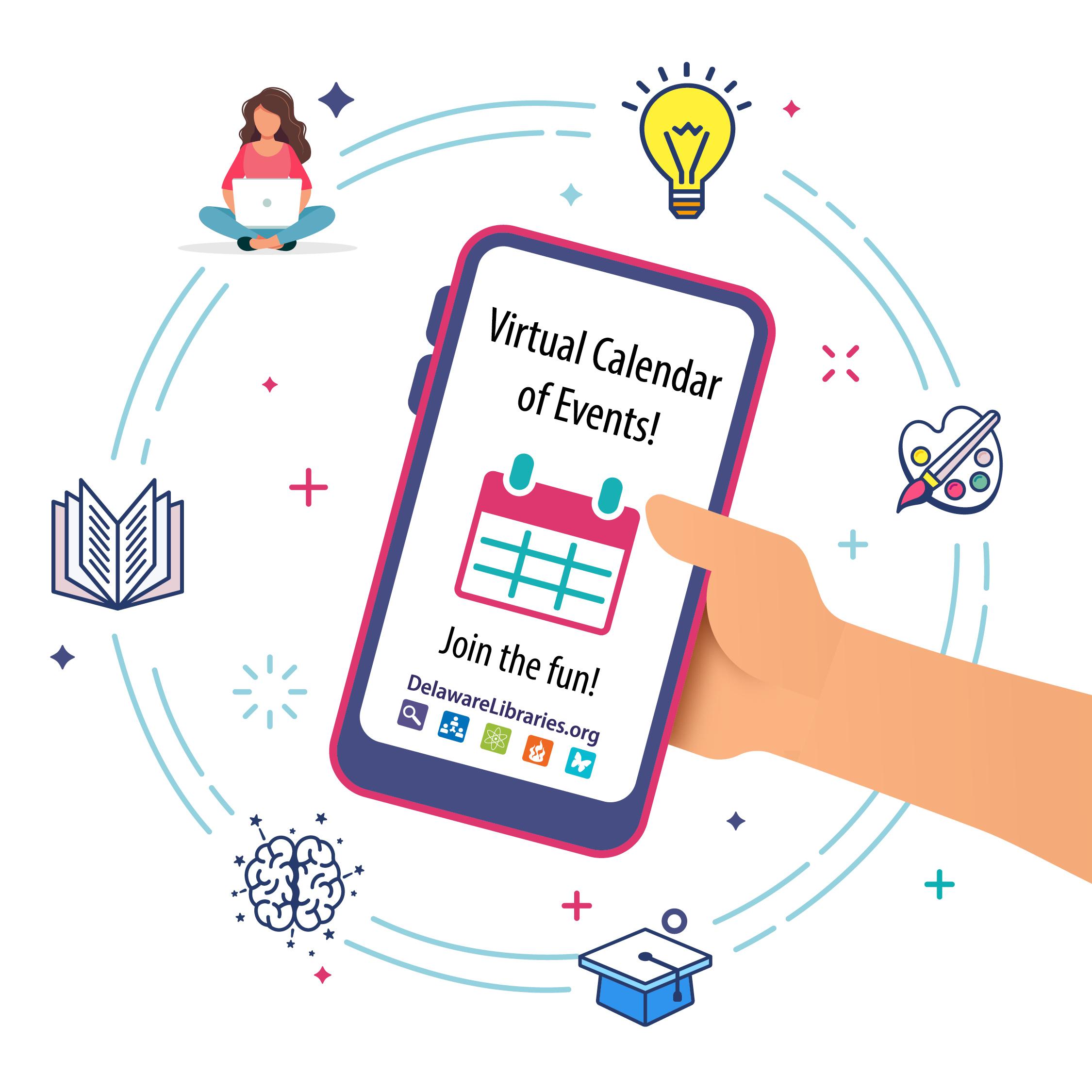 Delaware Libraries Shared Virtual Library Event Calendar Regarding Delaware State Calendar