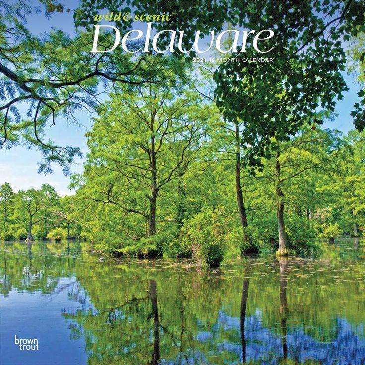 Delaware Wild & Scenic 2021 12 X 12 Inch Monthly Square Inside Delaware State Calendar