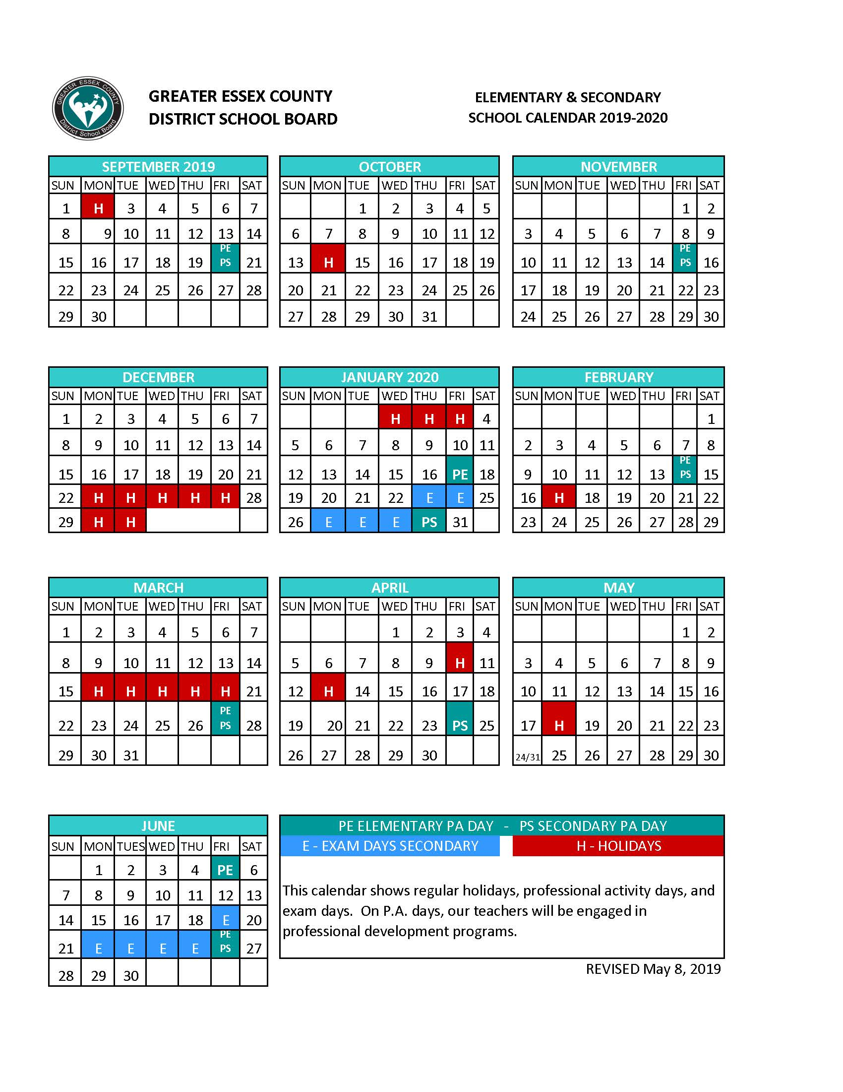 East Windsor Regional School District Pertaining To East Throughout Pine Bluff School District Academic Calendar