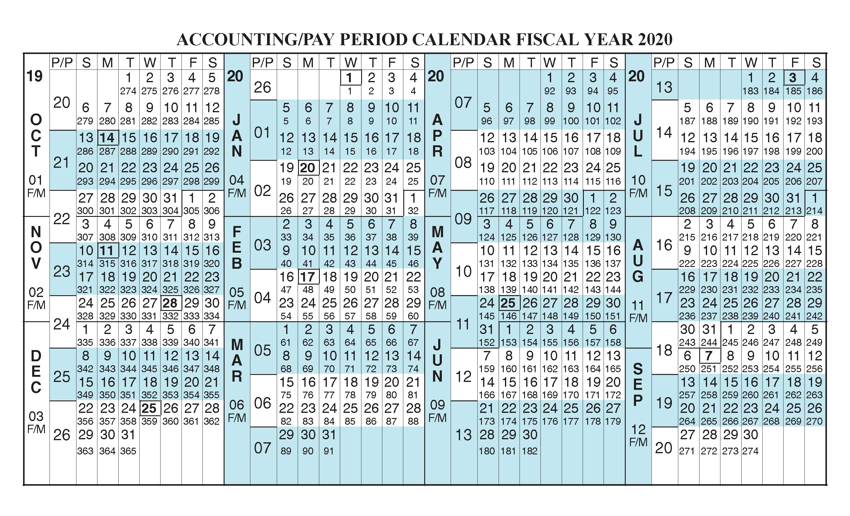 Federal Pay Period Calendar 2020 - Calendar Inspiration Design Throughout 454 2021 Calendar