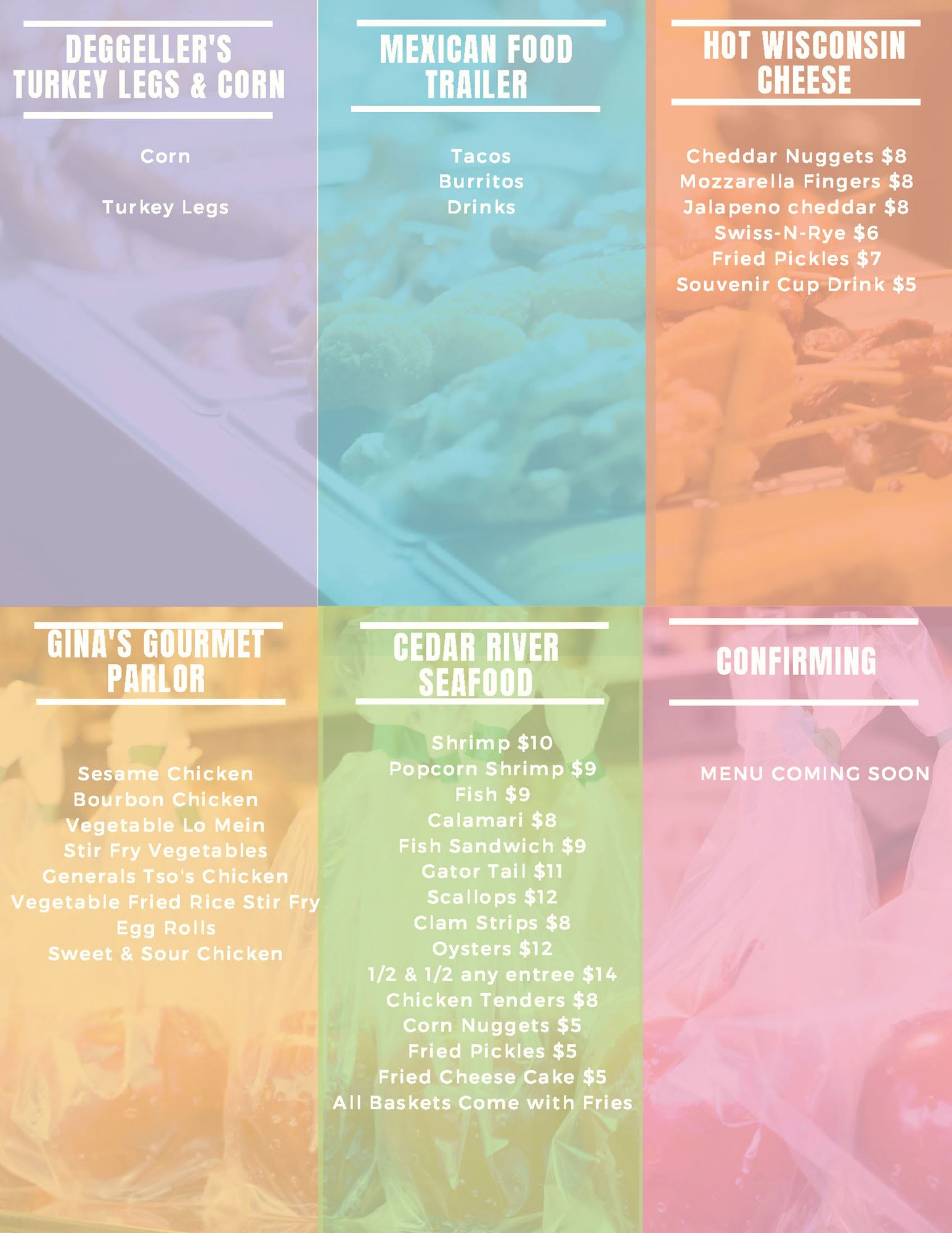 Food, Fun & Flicks Food Menu Within Clay County Florida School Calendar 2021