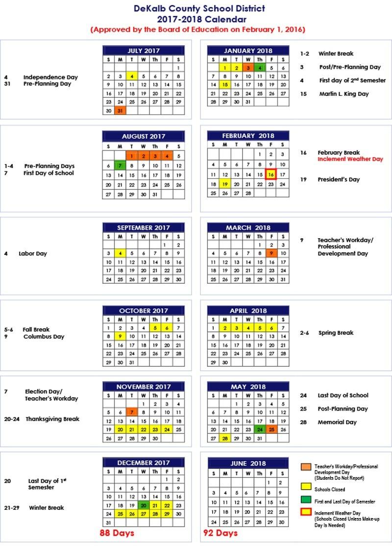 Forsyth County School Calendar 2020   Free Printable Calendar Intended For Winston Salem Forsyth County Schools Calendar Pdf