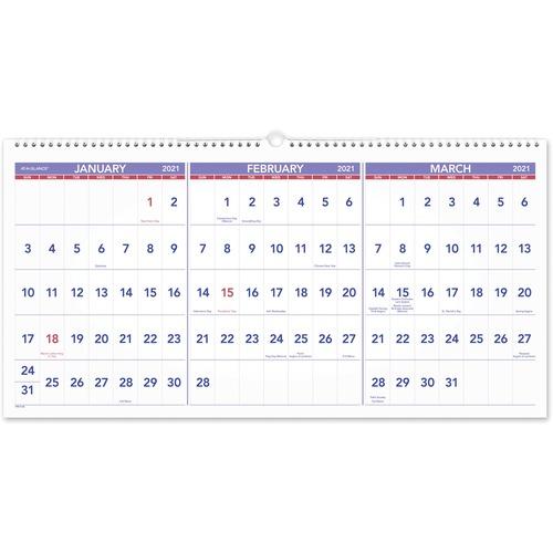 """House Of Doolittle 3 Month Vertical 17"""" Wall Calendar Throughout Julian Date Calendar 2022"""