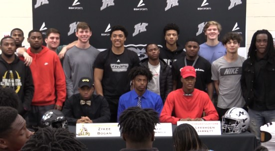 Houston County High National Signing Day Times Three Within Houston County Ga School Calendar