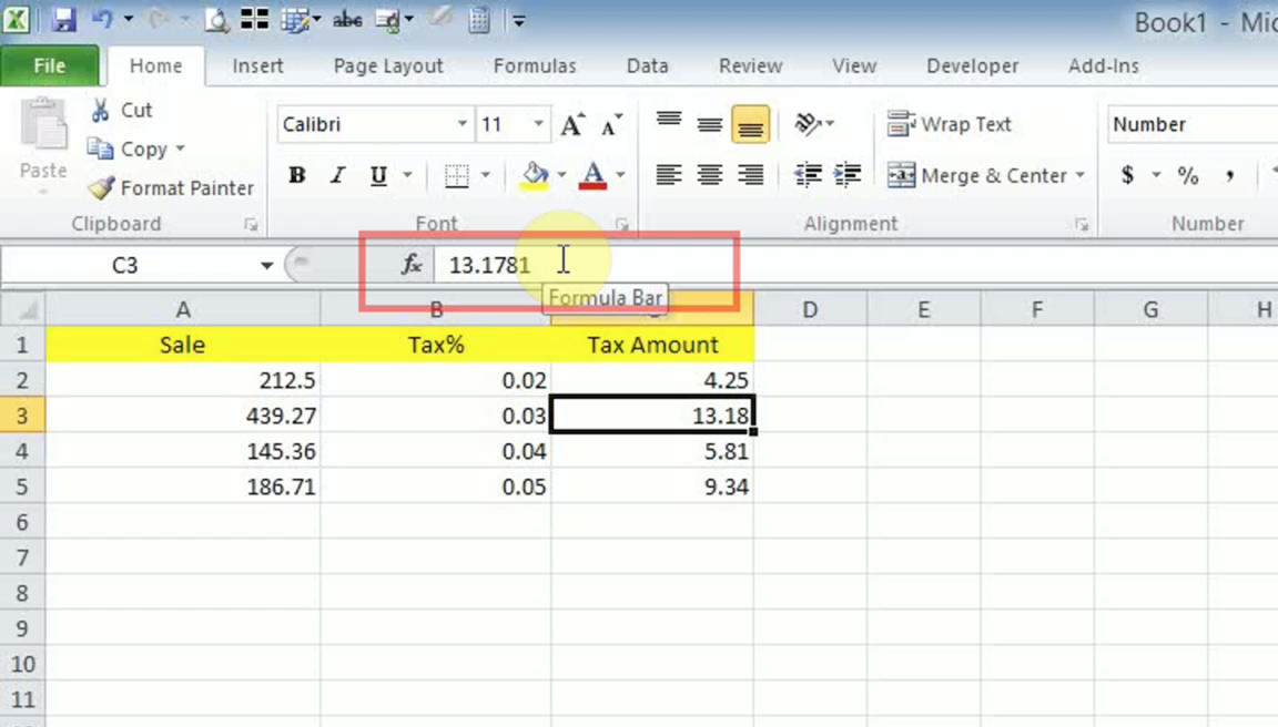 How To Convert Number To Round Up And Display Two Decimal For Change Excel Data To Calendar View