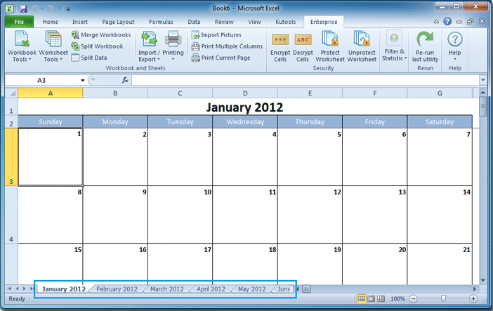 How To Create A Calendar In Excel? For Turn Excel Data Into A Calendar Not Outlook