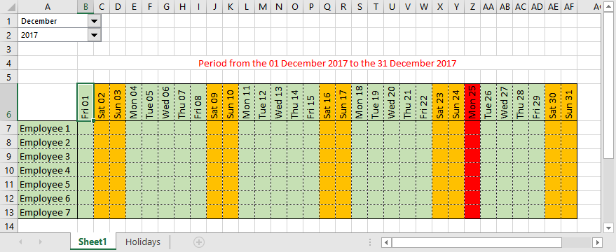 How To Make Automatic Calendar In Excel Within Excel Data To Calendar