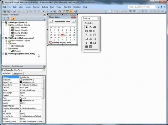 Insert Calendar Drop Down In Excel   Printable Calendar In Calendar Drop Down Excel Template