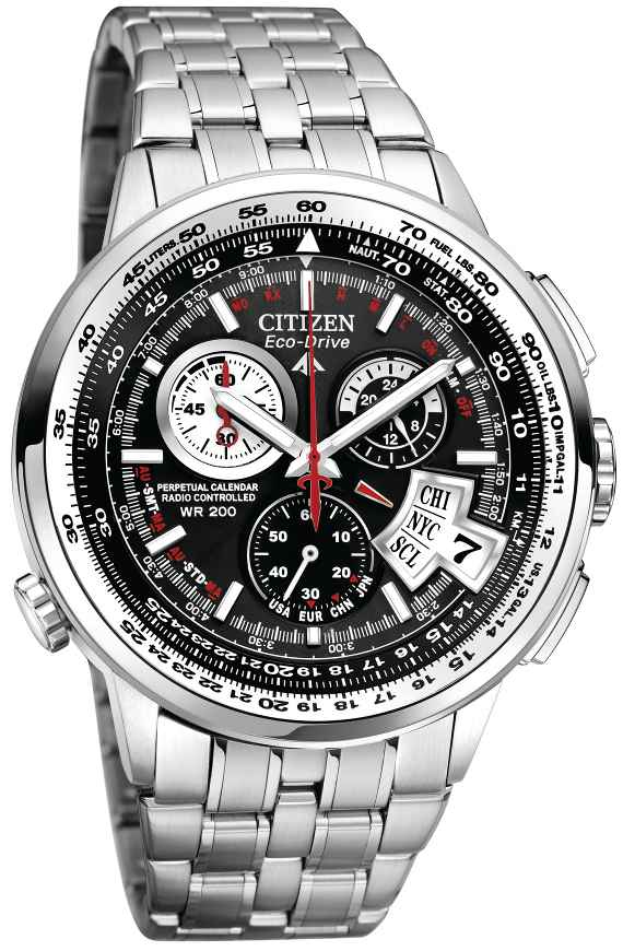 Is Casio The First? Analog Chrono Solar Atomic? In Citizen Eco Drive Wr100 Manual