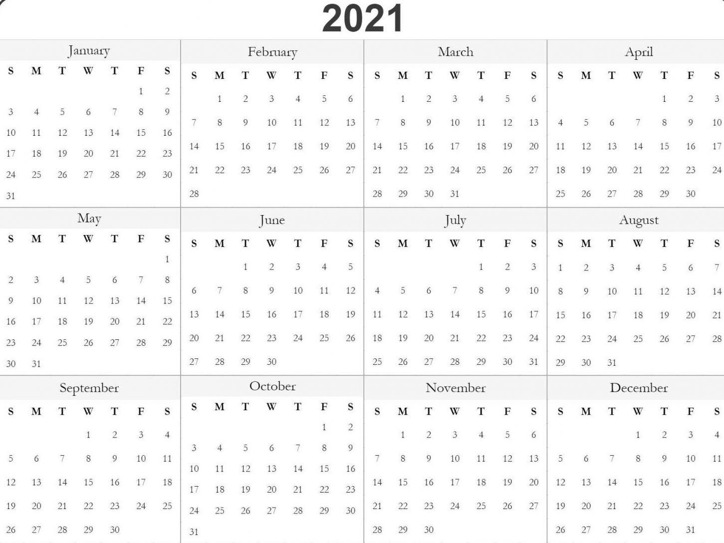 Julian Date 2021 | Calendar Template 2021 For Julian Date Conversion 2022