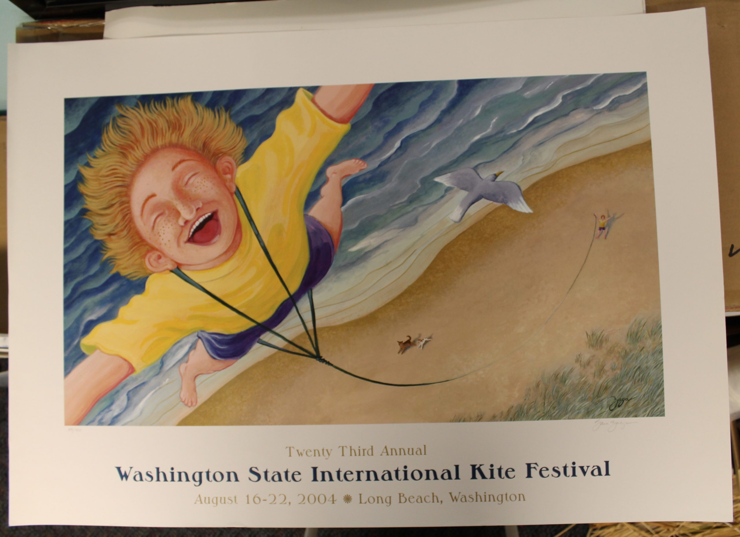 Kite Festival Poster Contest – World Kite Museum Regarding Long Beach Washington Events 2021