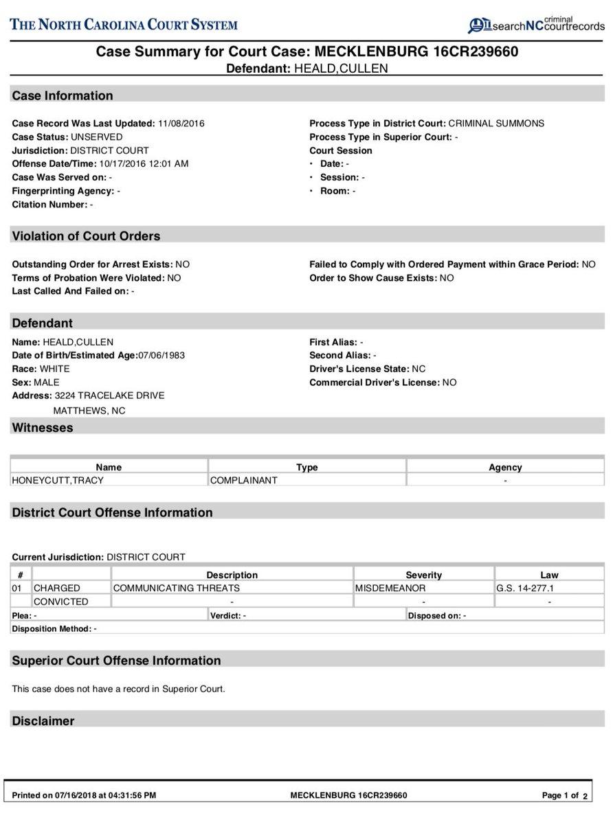 Nc Court Datesdefendant Name Query   Printable Regarding Nc Court Calender