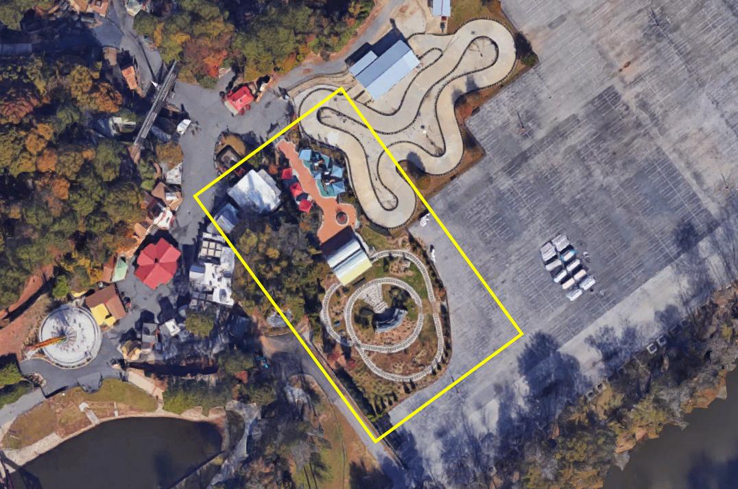 Pandemonium Construction At Six Flags Over Georgia April 2019 – Coaster101 Within Six Flag Over Ga Calendars