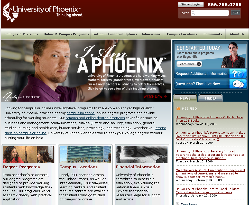Phoenix Online University, University Of Phoenix Programs Inside University Of Phoenix Break
