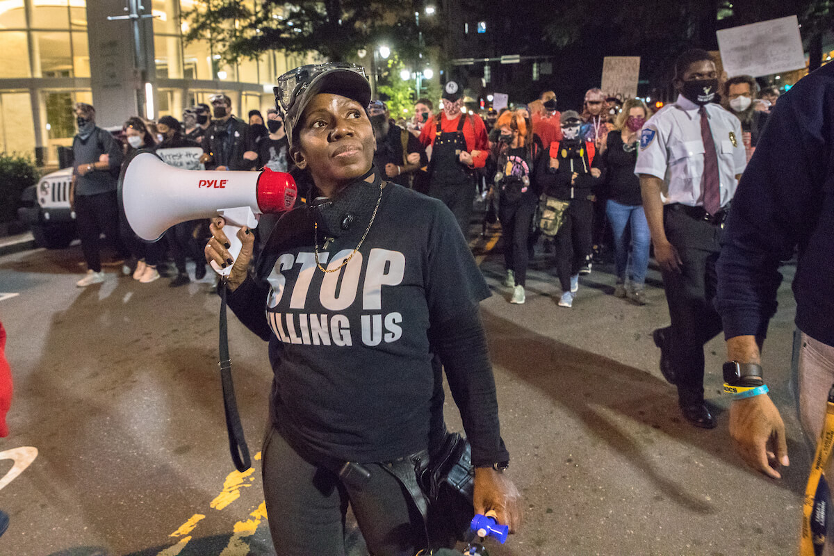 Photos: Black Lives Matter Demonstrators Take To Charlotte In Nc Courts Officer Query