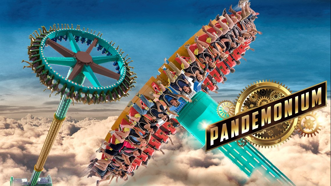 Photos | Six Flags Over Georgia'S Pandemonium Ride | 13Wmaz With Regard To Six Flag Over Ga Calendars