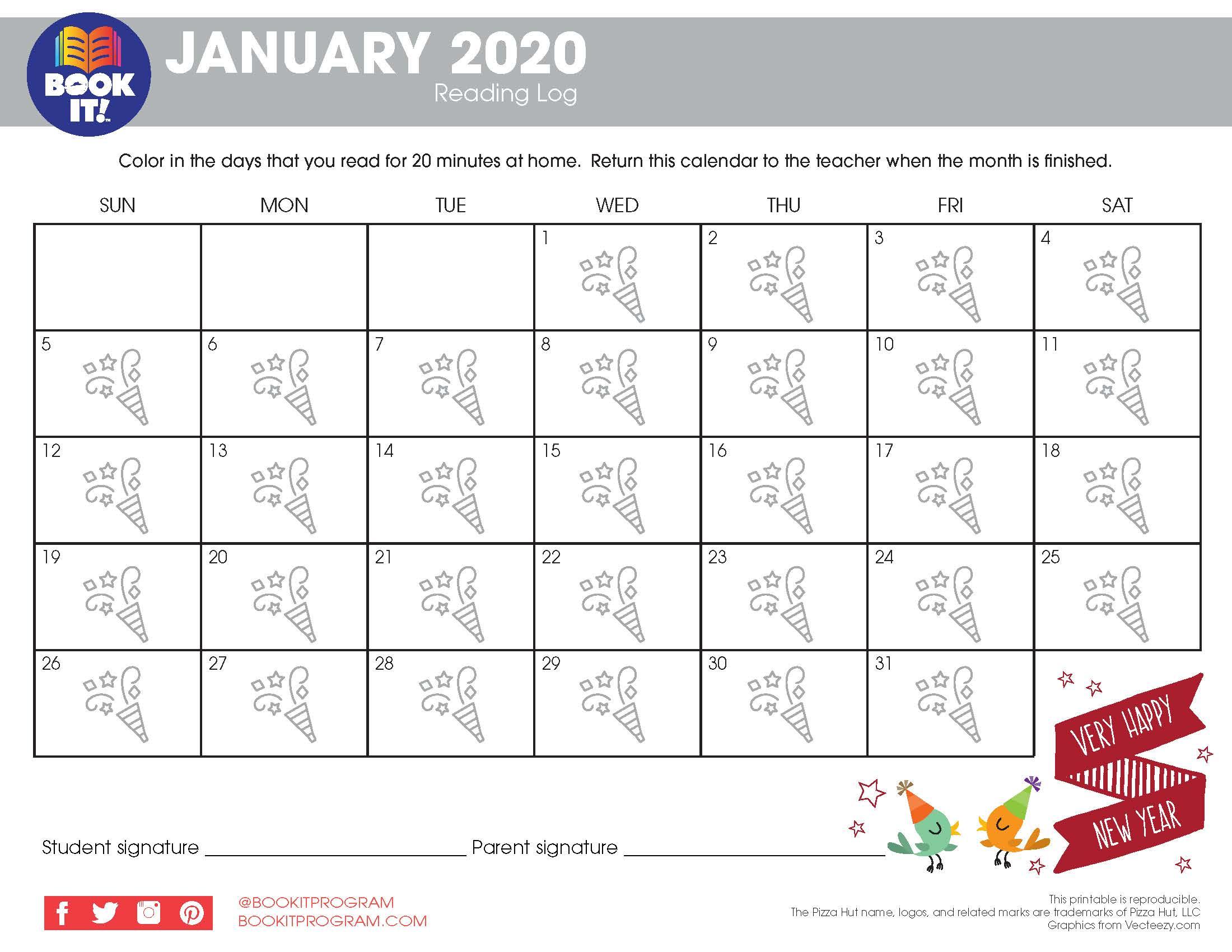 Pizza Hut Book It Calendar   Printable Calendar 2020 2021 For Nc Court Calendar By Defendent Name