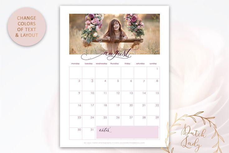 Psd Photo Calendar Template 2021 #1 In 2020 | Calendar With 454 2021 Calendar