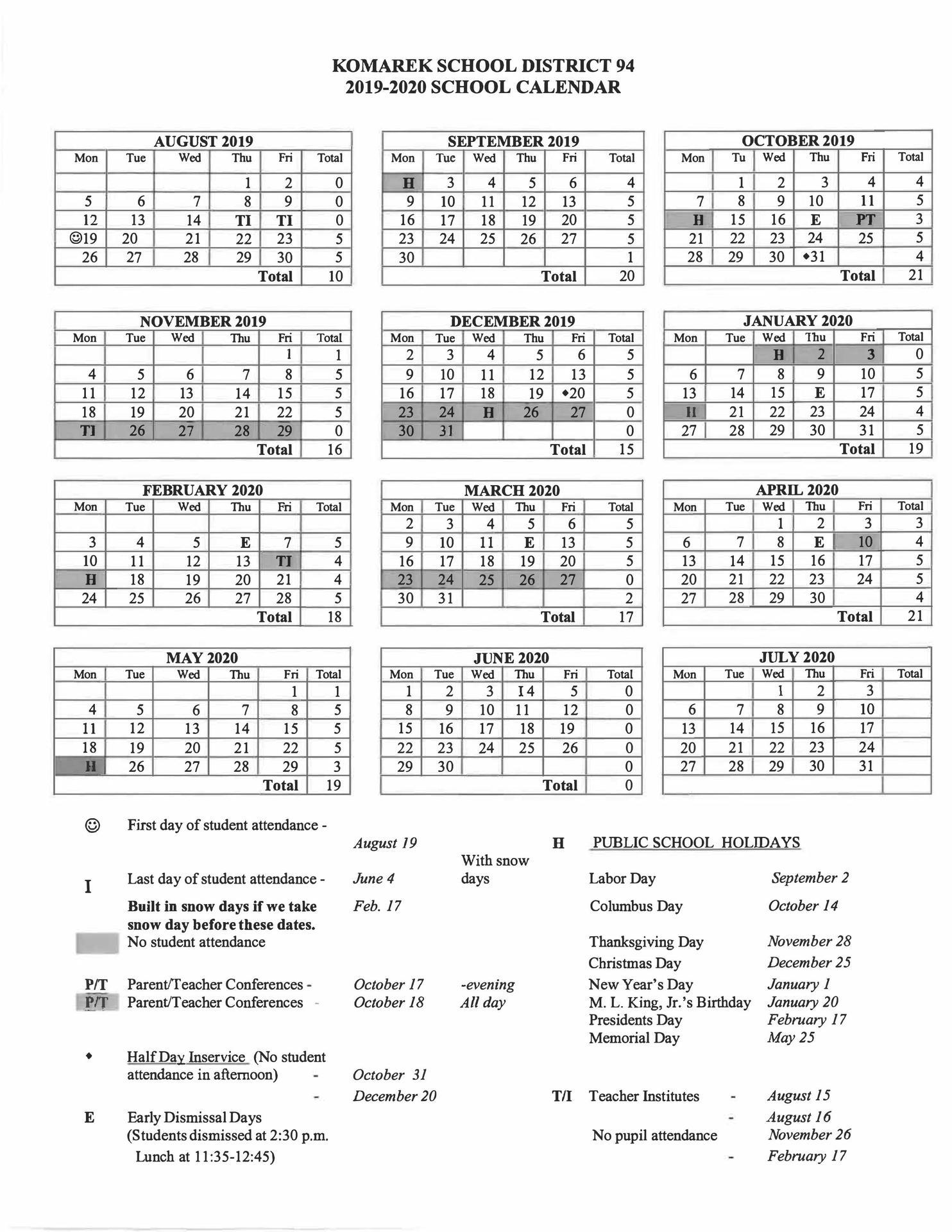Shop Last Year: Chamberlain University 2020 Calendar Within Las Cruces School District Calendar 2020 2021