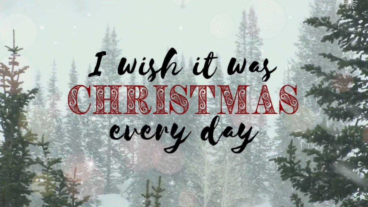 Simple Plan – Christmas Every Day (Lyric Video) – Youtube Inside Every Day Is A Holiday