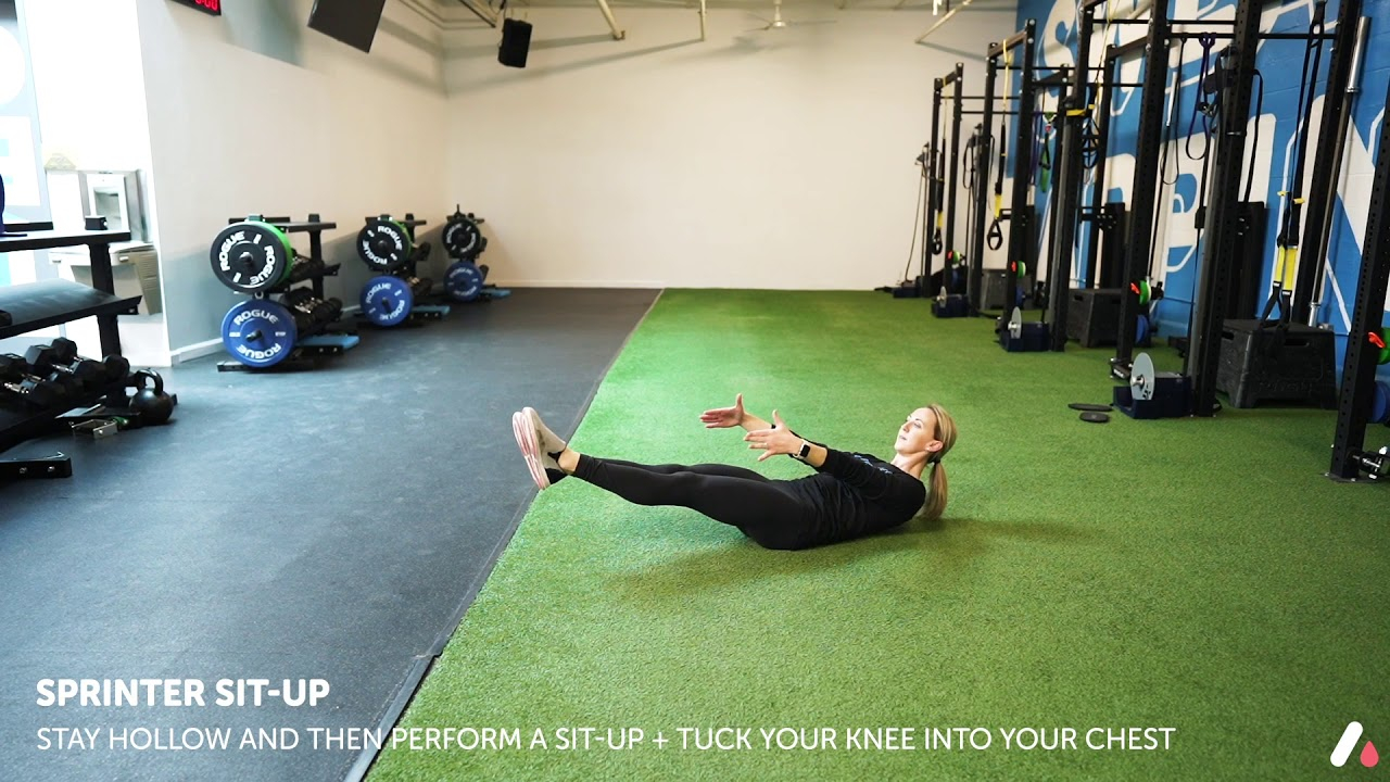 Sprinter Sit Up - Youtube With Sit Up Challenge 2021