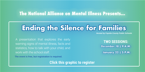 The National Alliance On Mental Illness Presents Ending Inside Fayette County Ga Public Schools Calendar