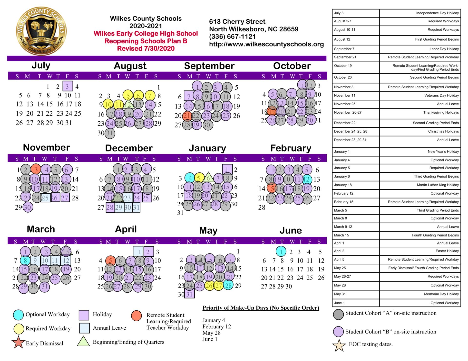 Wcs Calendar 2021 2022 | Printable March Regarding 2021 2022 Aiken County Public School Calendar